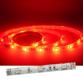 100cm Red 5050/5060 White Back Flexible & Waterproof LED Strip Light 30 LED/M