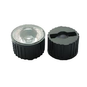 1W 3W 5W LED Lens Reflector Collimator 90° + Holder
