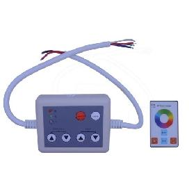 Wireless RGB Touch Panel LED Remote Controller DC 12-24V
