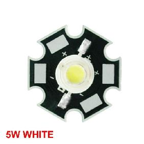 Cold Cool White High Power LED Bulb 5W 10000K CCT