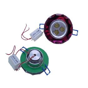 Wholesale 3W 3*1W Cool White/Warm White Led Recessed Ceiling Down Cabinet Light + Led Driver