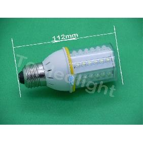 220V White 42 Led Light Bulb Lamp 2.6W 220-250LM E27