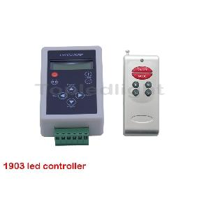 Wireless TM 1903 LCD SPI Controller 83 Effects DC 12V for Dream-Color LED Light