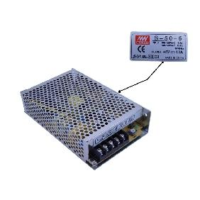 5V 10A Power Supply Input 100V-120VAC 1.2A / 200V-240VAC 0.6A