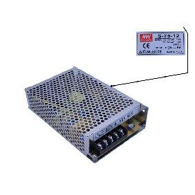 12V 6A Power Supply Input 100V-120VAC 2A / 200V-240VAC 1A