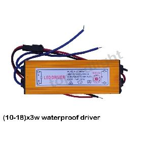 (10-18)*3W High Power Led Driver Waterproof with Input AC 165~265V