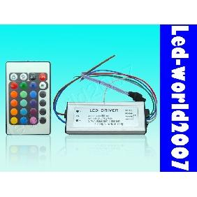 30W 30 Watt RGB High Power LED Driver + Remote Controller DIY