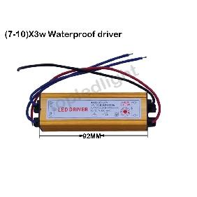 (7~10)*3W LED Driver Waterproof for 7x3W 8x3W 9x3W 10x3W High Power LED Light