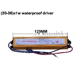 (20~30)*1W High Power LED Light Driver Waterproof AC 85V-265V