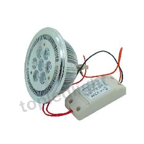 AR111 G53 7*2W White/Warm White High Power LED Light Lamp 14W +  External Driver