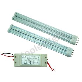 2pcs Cool White/Warm White 3528 144-LED Tube Bulb Fluorescent Light Lamp G11 + LED Driver