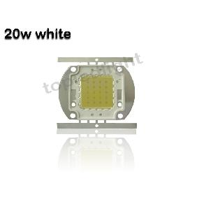 20W White High Power LED Oval Shape