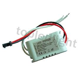 Dimmable Power Supply LED Driver Dimming For 3*3W High Power LED Light