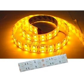 Yellow 5050 SMD 120PCS/M LED Bulbs Light Strip Waterproof 12V