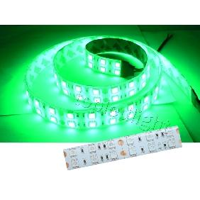 Green 5050 SMD 120PCS/M LED Bulbs Light Strip Waterproof 12V
