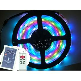 500cm 5050 SMD RGB 6803 IC Dream Color LED Strip Light 133 Light Effects