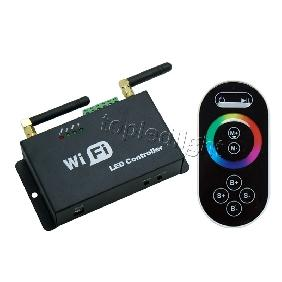 Mobile Phone Smartphone WiFi RGB LED Controller Touchable Screen Remote Control
