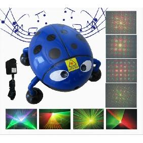 Wholesale Mini Projector R&G Cloud Star Flower Image DJ Disco Party Xmas Stage Laser Light