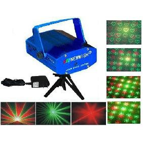 Wholesale Mini Projector Red & Green Twinkling Star DJ Disco Party Xmas Stage Laser Light