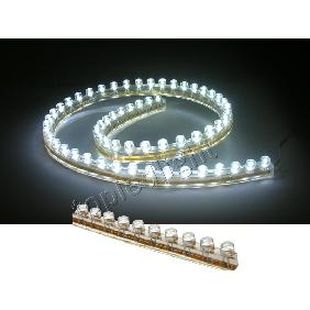 48cm White LED Light Strip Flexible Waterproof 12V DC
