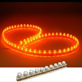 48cm Orange LED Light Great Wall Strip Flexible Waterproof 12V DC