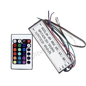 50W RGB Multicolor High Power LED Driver Infrared IR Remote Controller