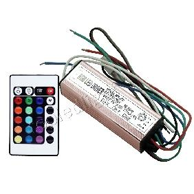 20W RGB Multicolor High Power LED Driver Infrared IR Remote Controller