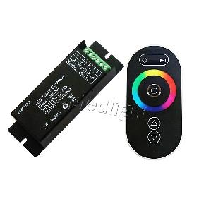 RF Wireless Touch Panel Remote Controller RGB LED Dimmer For RGB LED Strip Light