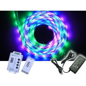 5m 1903 Dream Color Led Strip Light 133 Effects Kit for Christmas