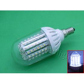 5.5W Cool White/Warm White 3528 SMD LED Corn Light Bulb Lamp DC10-18V E14/E27