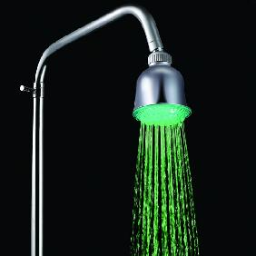 Wholesale Water Glow Powered Rainfall 7 Colors Changing LED Light Top Shower  Head Bathroom