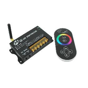 New 2.4G Wireless RGB Full Color LED Dimmer Controller Touch Screen Panel Remote