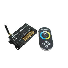 2.4G Wireless LED Color Temperature Controller Touch Screen Panel Remote Control