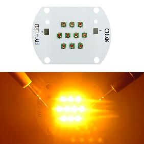 30W Cree XLamp XPE Multichip LED 30 Watt Amber/Yellow Light