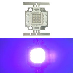 10W 10 Watt Ultra Violet UV High Power Led Light 395nm ~ 405nm
