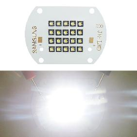 60W SAMSUNG LED Copper Board White Light 6000lm View Angle 124 Degree