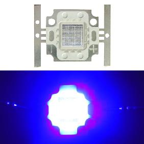 10W 10 Watt 420nm Ultra Violet UV High Power LED Drying Glue Square Shape