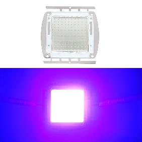 120W Ultra Violet UV 395NM-405NM High Power LED Light