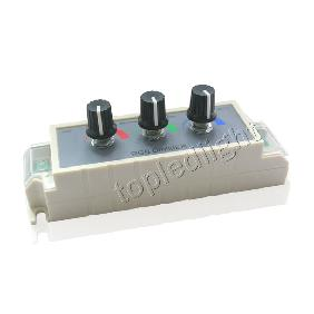 RGB LED Dimmer Adjustable Brightness Controller DC12V 3A