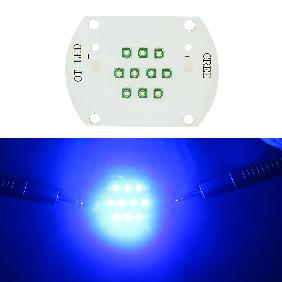 30W Cree XPE High Power LED Emitter 30 Watt Light Blue 450nm~455nm Royal Blue 460nm~470nm