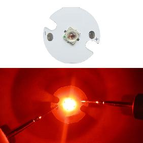 Epileds 3W High Power LED 3watt Red Light Bulb Lamp DIY