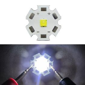 Epistar 1W High Power LED 1watt White Light Bulb Lamp DIY