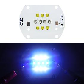 50W Cree XT-E LED Cool White and Royal Blue Multichip For Coral Grow Light Bulb Lamp DIY