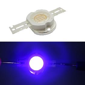 10W Ultra Violet + Pink Color Effect High Power LED Light 10 Watt 420nm ~ 435nm