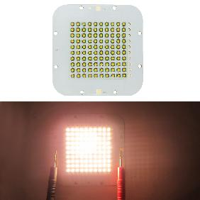 90pcs Cool White/Warm White Cree XPG XP-G Multichip LED on Red Copper PCB Board