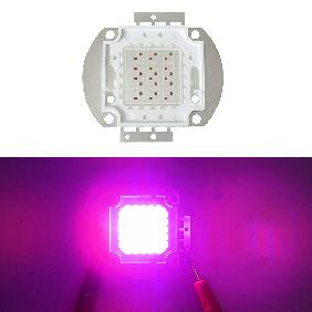 30W Epileds Red 660nm 42mil Blue 450nm 45mil Hybrid Led Grow Light