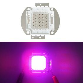 50W Epileds Red 660nm 42mil Blue 450nm 45mil Hybrid Led Grow Light