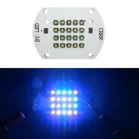 60W 60 Watt Cree XP-E Multicolor LED royal blue:blue:green:warm white=8:4:4:4
