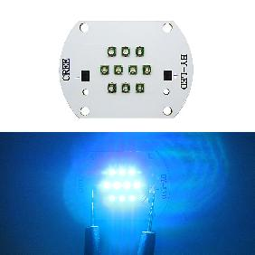 30W Cree XP-E Multicolor LED 3 Blue + 4 Green + 3 Royal Blue Chip