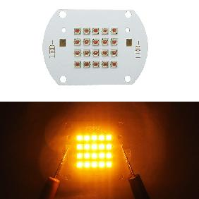 Epileds 42mil 60W Yellow 590nm ~ 595nm High Power LED Light Bulb Lamp DIY